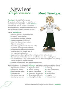 Corporate Persona Profile - Penelope